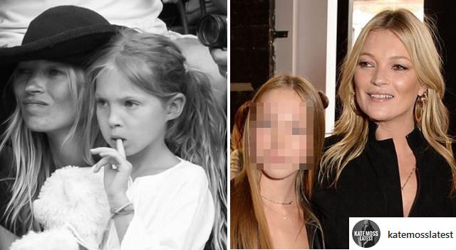 Kate Moss z córką na London Fashion Week. Przypomina mamę? (ZDJĘCIA)