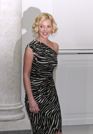 Katherine Heigl w zeberce (FOTO)