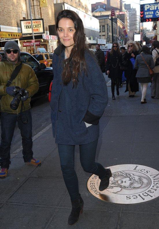 Katie Holmes bez makijażu (FOTO)