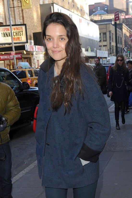 Katie Holmes bez makija�u (FOTO)