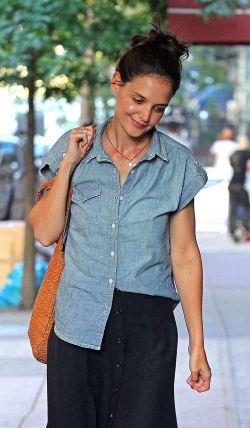 Zbuntowana Katie Holmes na okładce Elle (FOTO)