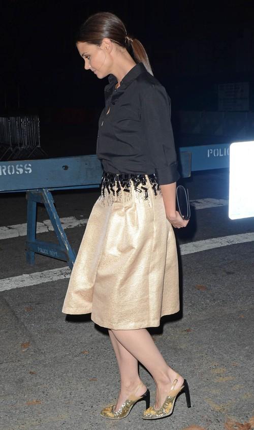 Katie Holmes na rozdaniu nagród Annual Style (FOTO)