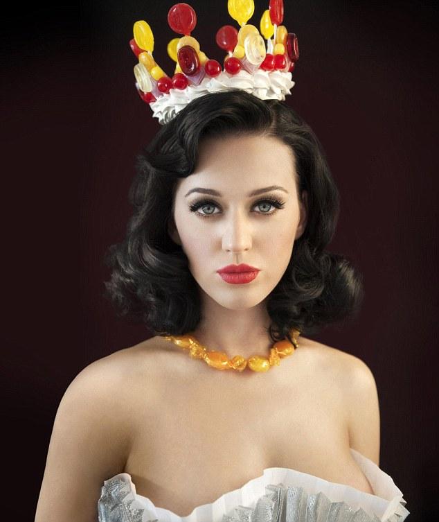 Katy Perry to sama słodycz na okładce nowego albumu (FOTO)