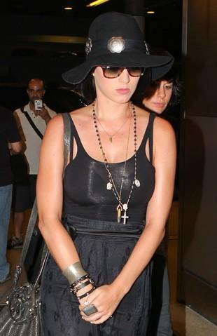 Katy Perry na okładce Elle (FOTO)