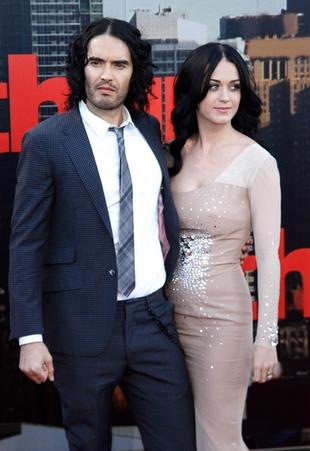 Russell Brand rozwodzi się, bo Katy nie chciała mieć dzieci?