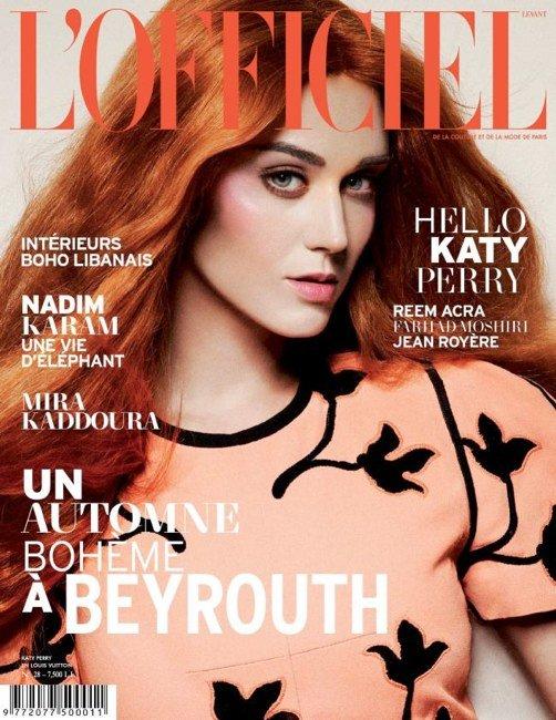 Ruda Katy Perry na okładce francuskiego magazynu (FOTO)