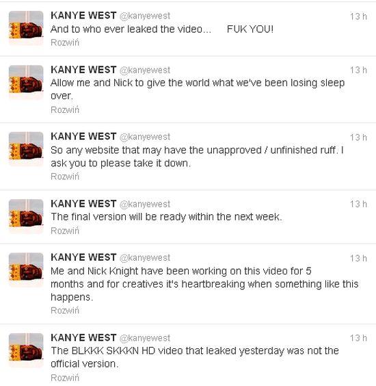 Nagi Kayne West w teledysku (VIDEO)