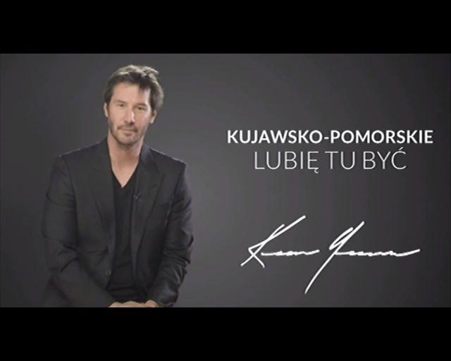 Keanu Reeves reklamuje jedno z polskich wojew�dztw [VIDEO]
