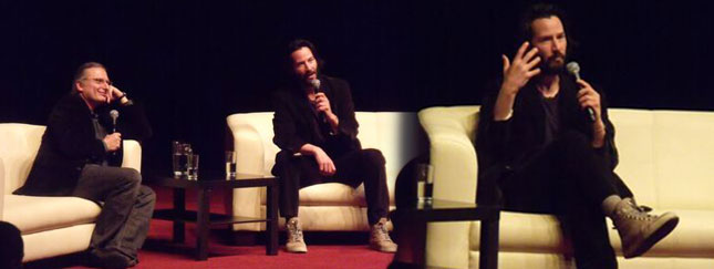 Keanu Reeves w Polsce (FOTO, VIDEO)