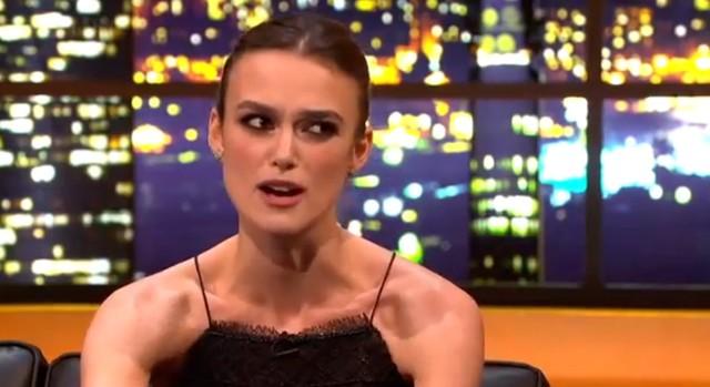 Keira Knightley: Pupa w reklamie Chanel nie jest moja