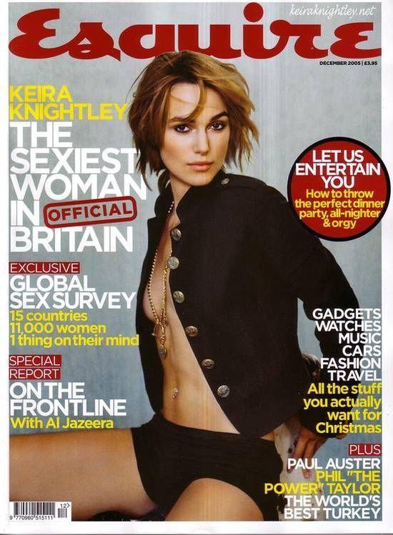 Keira Knightley TOPLESS BEZ PHOTOSHOPA