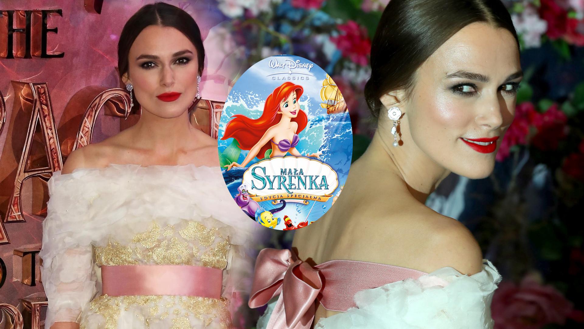 Keira Knightley nie pozwala córce oglądać bajek Disneya z Ariel i Kopciuszkiem