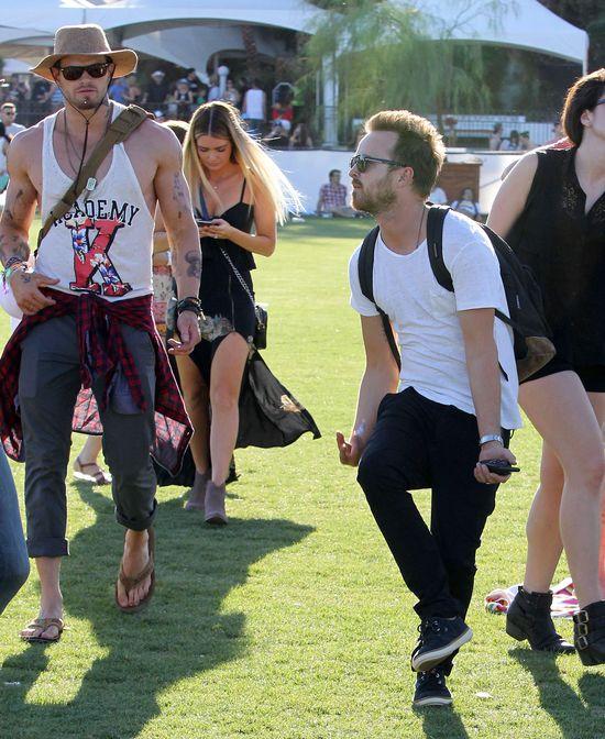 Gwiazdy bawią się na Coachelli (FOTO)