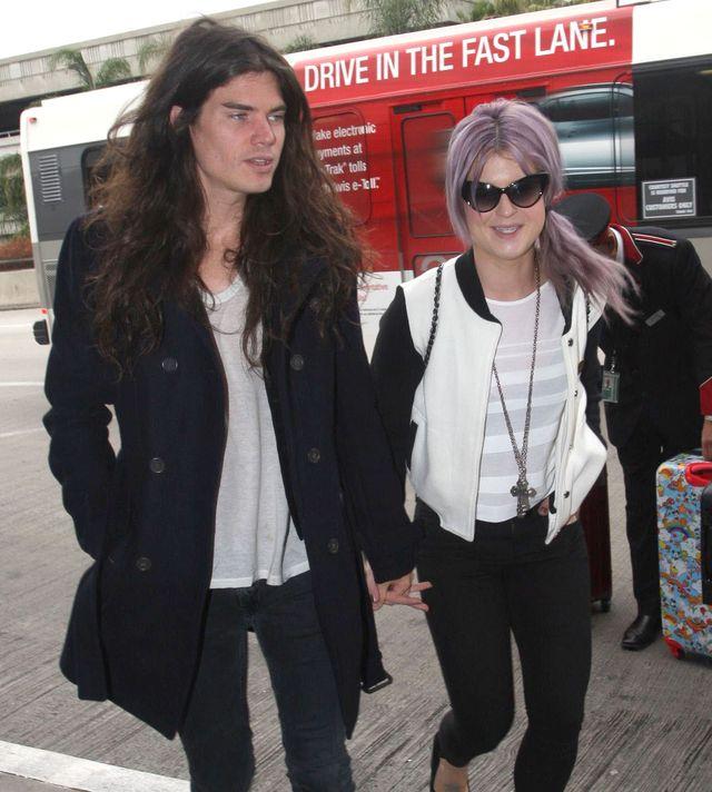 Kelly Osbourne i  Matthew Mosshart  zar�czyli si�