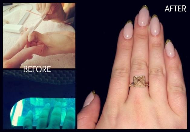 Kelly Osbourne pochwali�a si� manikiurem na Oskary (FOTO)