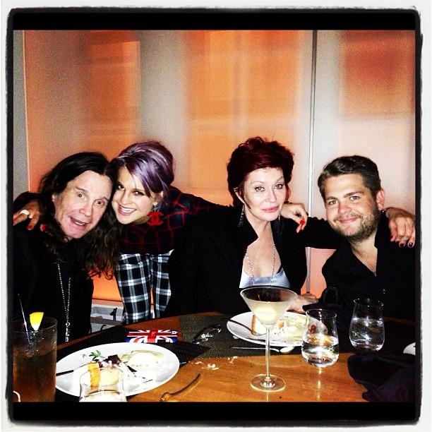Jack Obsourne na urodzinowej kolacji z Beckhamami (FOTO)