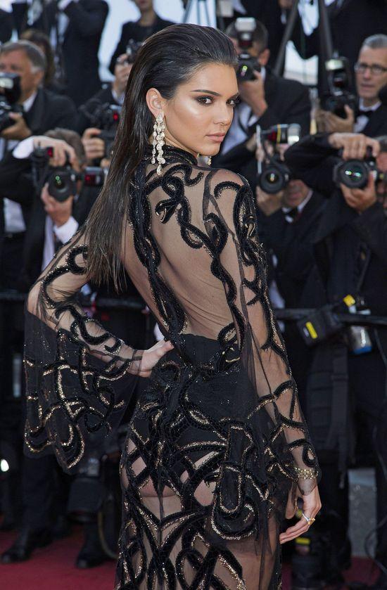 Kendall Jenner zachwyciła swoją kreacją w Cannes