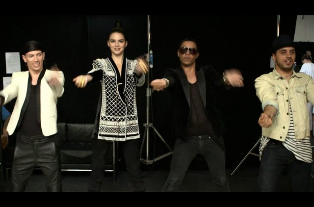 Kendall Jenner TAŃCZY w reklamie Balmain [VIDEO]