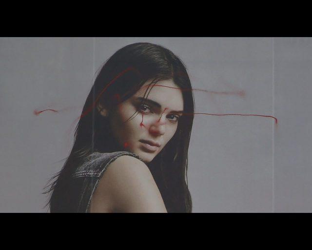 Użył drona, by zamazać twarz Kendall Jenner [VIDEO]