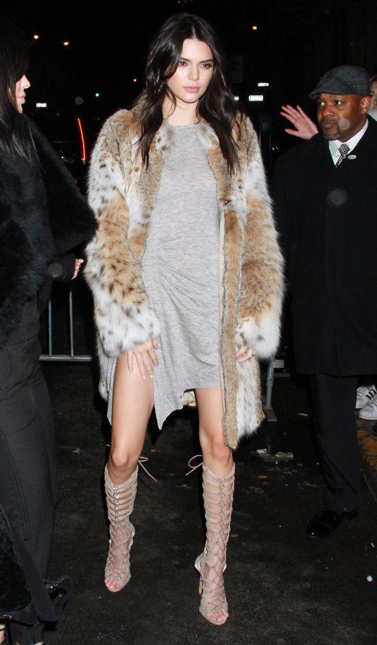 Kendall Jenner zrobiła awanturę paparazzo