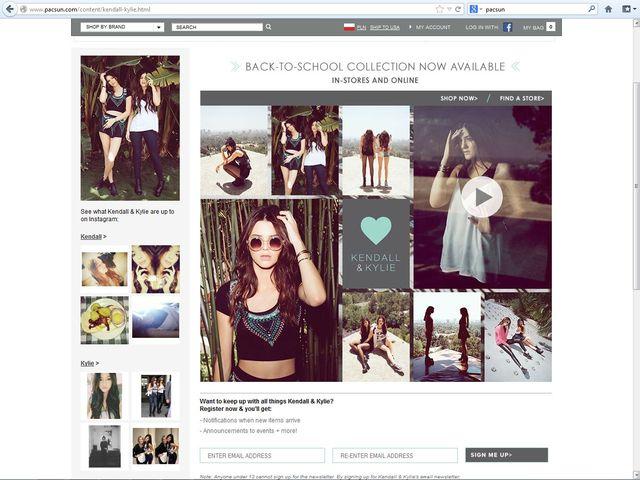 Kendall i Kylie Jenner promuj� swoj� lini� ubra�(FOTO+VIDEO)