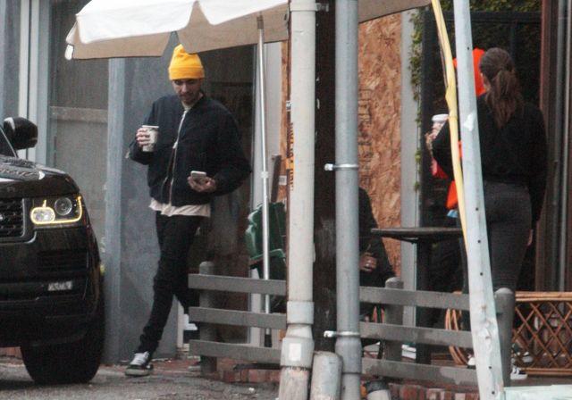 Kendall Jenner z chłopakiem na kawie (FOTO)