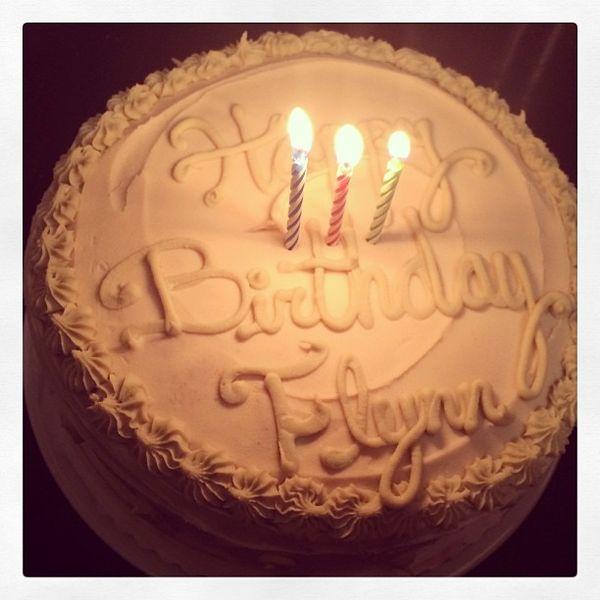 Urodzinowy tort Flynna Blooma (FOTO)
