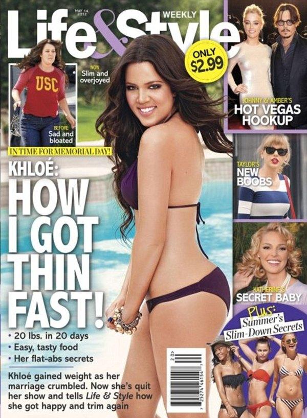 Khloe Kardashian schudła 9 kilo w 3 tygodnie (FOTO)