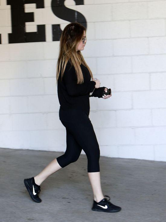 Khloe Kardashian łysieje? (FOTO)