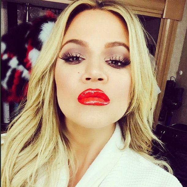 Khloe Kardashian te� przesadzi�a z powi�kszaniem ust? Insta