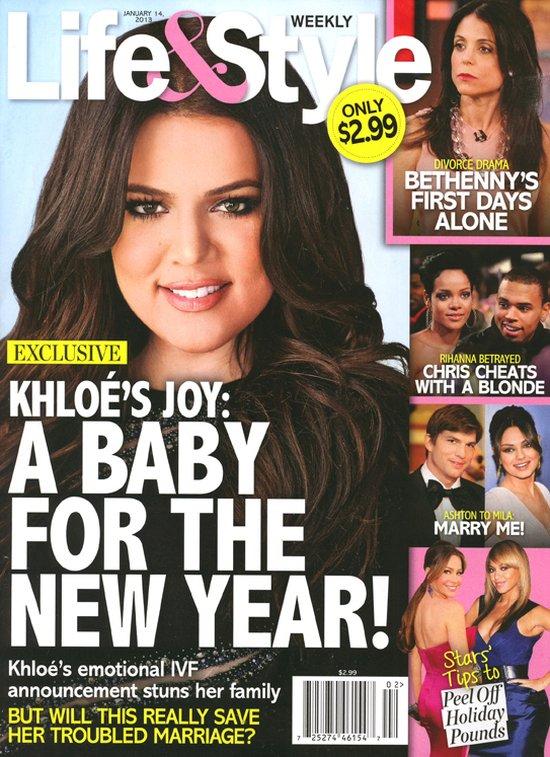 Khloe Kardashian znów stara się o dziecko