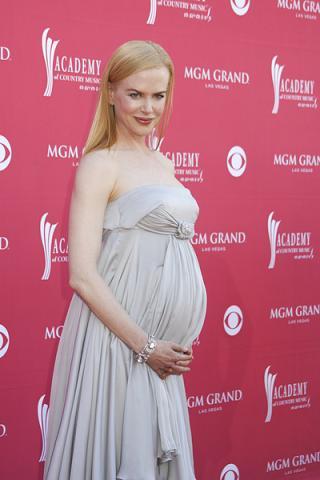 Nicole Kidman chce rodzić przy muzyce