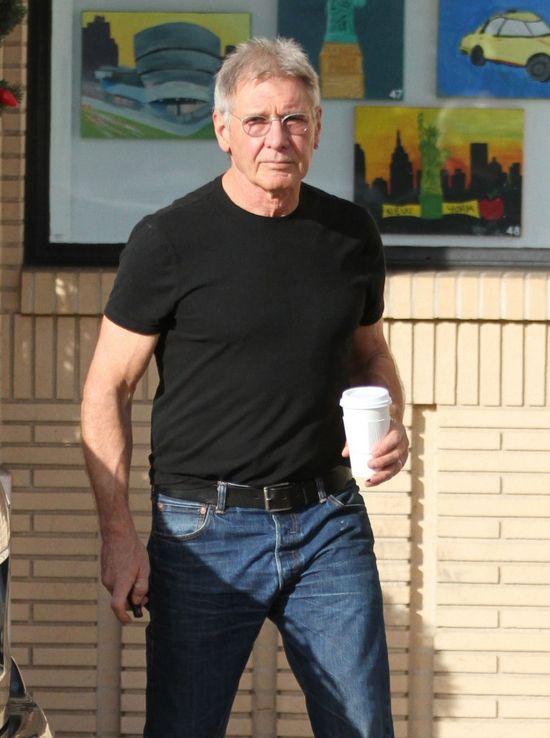 NIE POZNALIBYŚCIE Harrisona Forda... na ulicy! (FOTO)