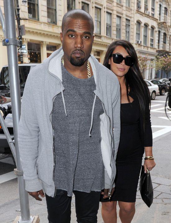 Kanye West wysłał po Kim Kardashian prywatny odrzutwiec