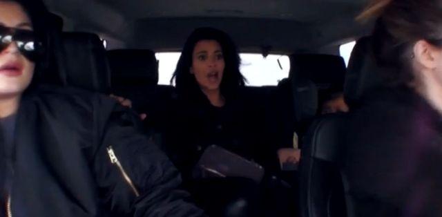 Jest video z wypadku samochodowego Kardashianek (VIDEO)