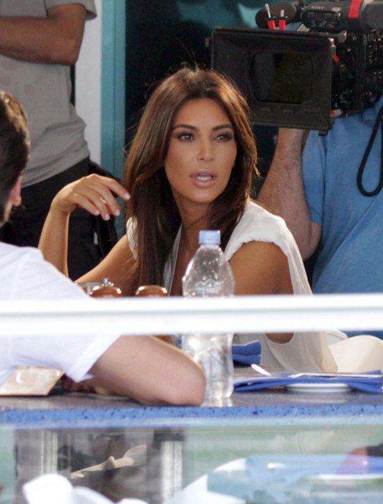 Kardashianowie - kolacja w towarzystwie kamer (FOTO)