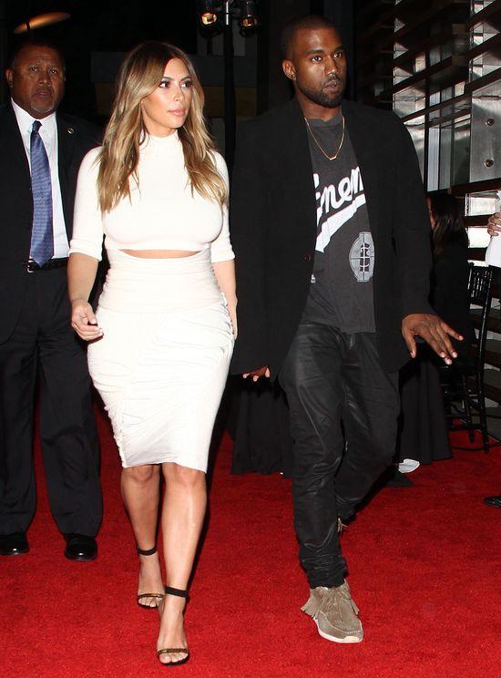 Kim Kardashian pozywa YouTube, a Kanye West szuka zamku...