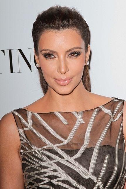 Botoks - sekret gładkiej cery Kim Kardashian?