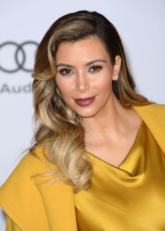 Kim Kardashian przygotowuje twarz do �lubu za 21 600$