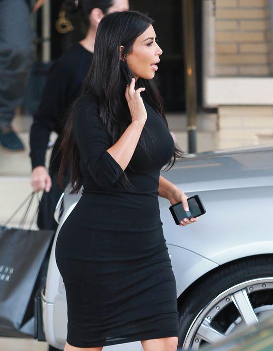 Wielka gafa Kim Kardashian! Wyśmiał ją Armani!