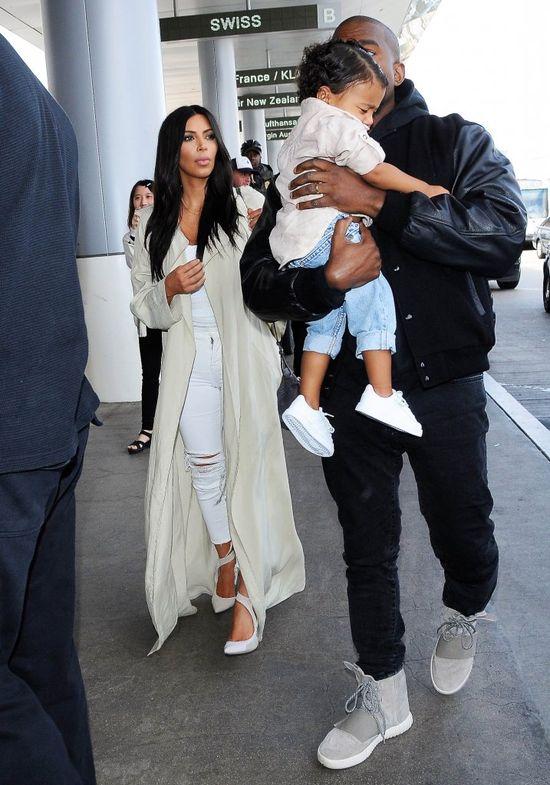 Skandal! TAK potraktowa� Kim Kardashian i Kanye Westa!