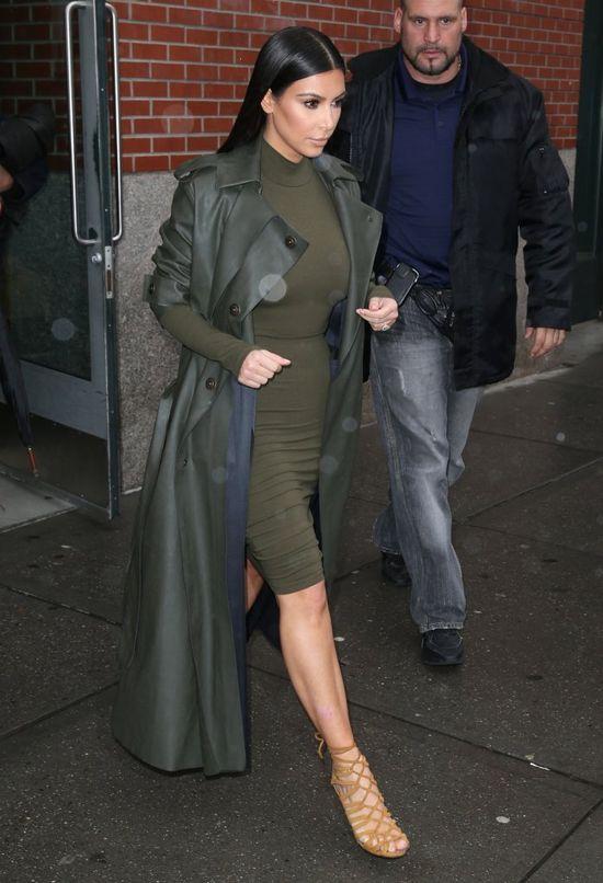 Ciążowa waga Kim Kardashian to kara boża? (FOTO)