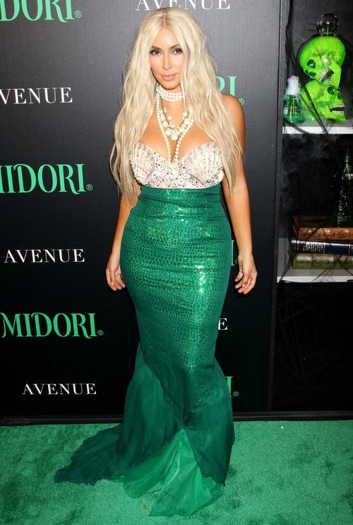 Halloweenowy kostium Kim Kardashian (FOTO)