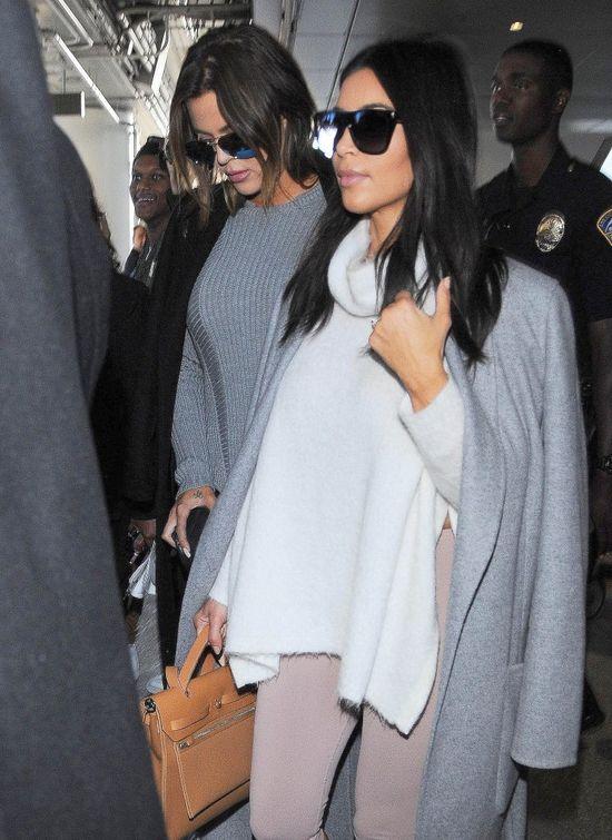 Tym razem język Kim Kardashian okazał się zbyt długi