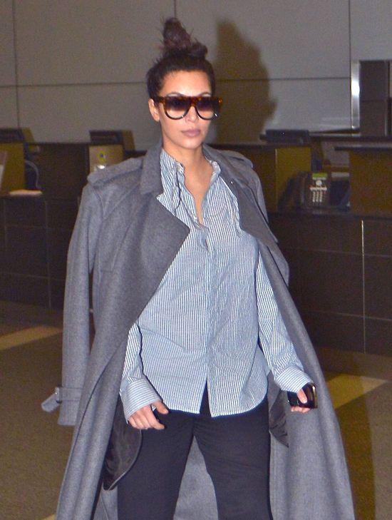 Kim Kardashian wróciła z Paryża (FOTO)