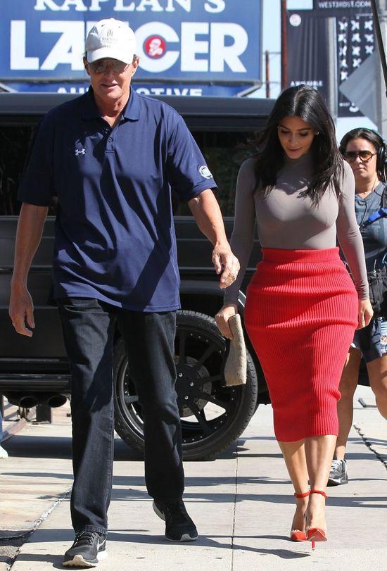 Stylistką Bruce'a Jennera zostanie Kim Kardashian?