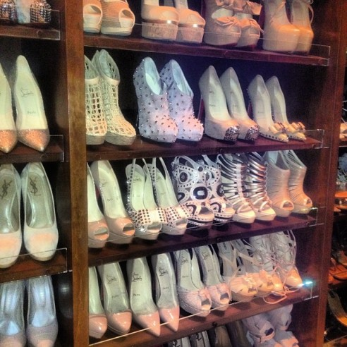 Gdzie gwiazdy trzymają buty? (FOTO)