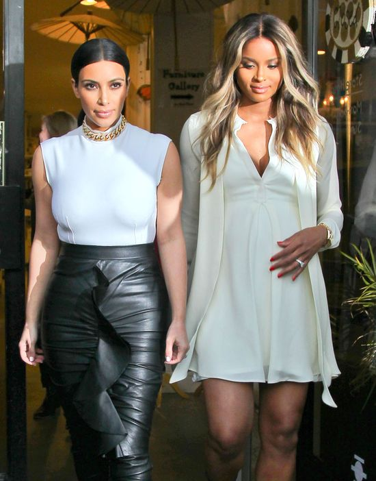 Kim Kardashian stylistką Ciary? (FOTO)