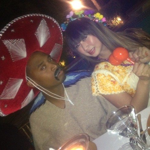 Szalone imprezki Kim Kardashian (FOTO)