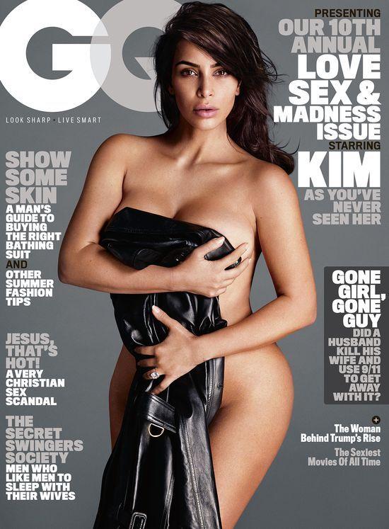 Wow! Kim Kardashian w EROTYCZNEJ sesji dla Magazynu GQ! (FOTO)